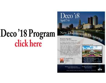 Click Here to download the Deco '18 Program